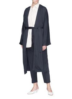 FFIXXED STUDIOS 'Flow' belted robe coat