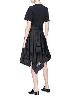 3.1 Phillip Lim Handkerchief skirt T-shirt dress