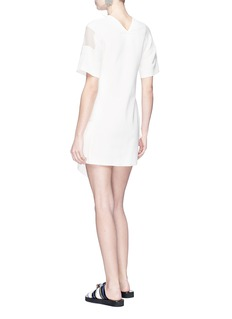 3.1 Phillip Lim Chiffon panel handkerchief dress