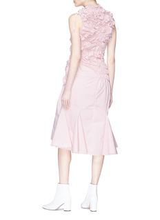 Minki Ruched sleeveless dress