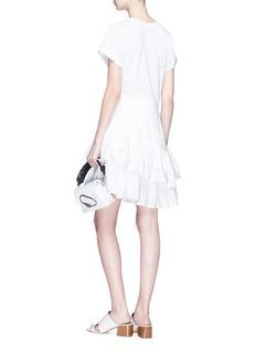 3.1 Phillip Lim Poplin peplum T-shirt dress