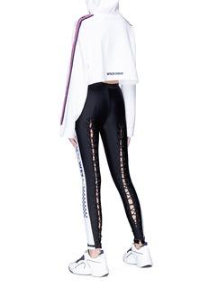 FENTY PUMA by Rihanna Logo stripe cropped hoodie
