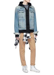 Scotch & Soda Half zip hoodie