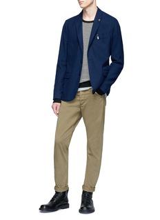 Scotch & Soda Stripe cotton-cashmere sweater