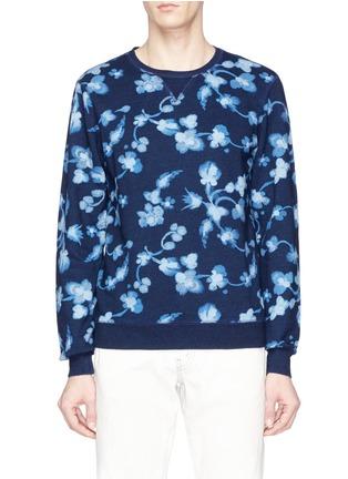Scotch & Soda Floral print sweatshirt ...