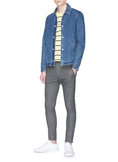 Topman 'Micro Check' skinny pants