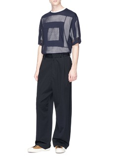 Dries Van Noten Mesh panel T-shirt
