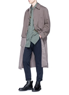 Dries Van Noten 'Revell' layered coat