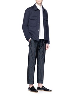 Dries Van Noten 'Columbo' military shirt