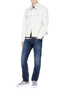 Denham 'Razor' washed slim fit jeans