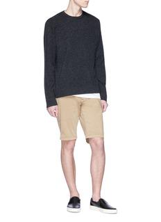 Denham 'Raptor' logo embroidered shorts