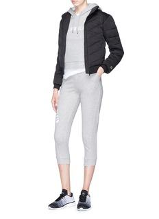 Calvin Klein Performance Logo print cropped sweatpants
