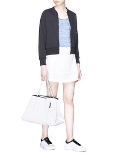 Calvin Klein Performance Perforated hem mini skirt
