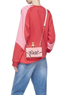 Cecilia Ma 'Stop and Smell the Rosé' clutch