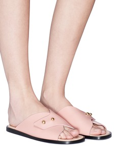 Acne Studios 'Jillay' stud leather slide sandals