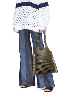 Sonia Rykiel 'Le Baltard' leather net tote