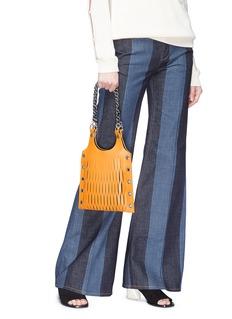Sonia Rykiel 'Le Baltard' mini leather net tote