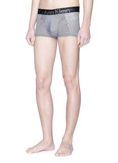 Calvin Klein Underwear 'Focused Fit' logo stripe lightweight micro stretch boxer briefs