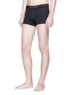 Calvin Klein Underwear Body品牌名称纯棉平脚内裤