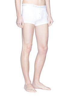 Calvin Klein Underwear 'Body' logo button fly boxer briefs