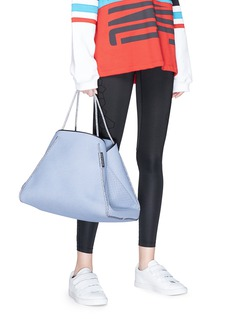 State of Escape 'Guise' sailing rope handle denim print neoprene tote