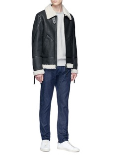 Jason Denham Collection 'Sky Aviator' sheepskin leather jacket