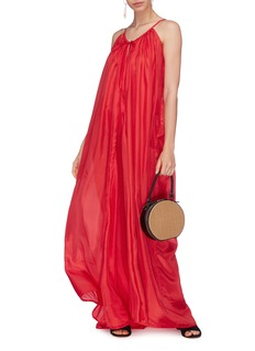Kalita 'Mercury' silk maxi dress