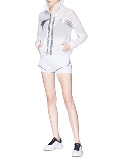 Alala 'Strata' metallic trim running shorts