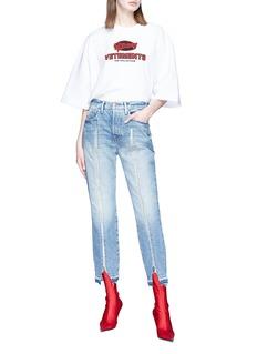 Vetements Logo print oversized unisex T-shirt