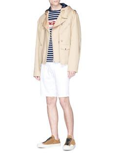 JW Anderson 'Florence' print stripe long sleeve T-shirt