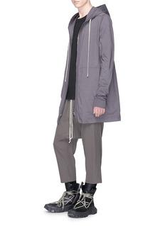 Rick Owens Heavyweight cotton zip hoodie