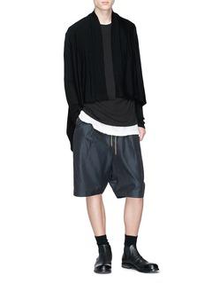 Rick Owens Virgin wool cropped cardigan