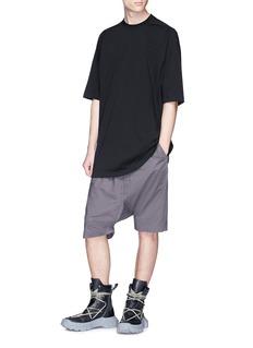 Rick Owens 'Pods' drop crotch poplin shorts