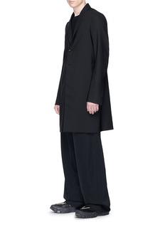 Rick Owens Belted virgin wool coat