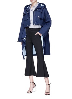 HELEN LEE Cropped flared suiting pants