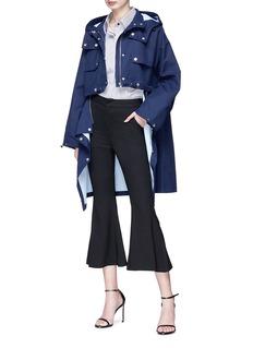 HELEN LEE Detachable hem hooded military coat