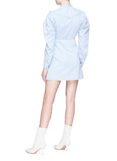 HELEN LEE Gigot sleeve denim dress