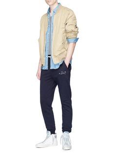 SCOTCH & SODA 品牌标志抽绳休闲裤