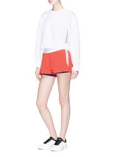 Adidas By Stella Mccartney 'Training' zip back sweatshirt