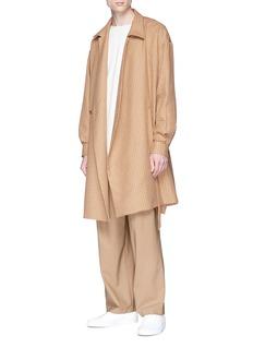 ETHOSENS Pleated wool pants