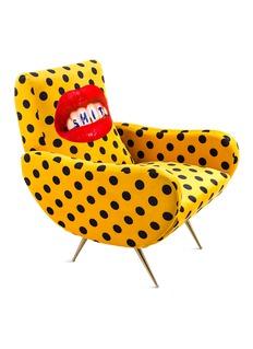 Seletti x Toiletpaper Magazine Mouth armchair