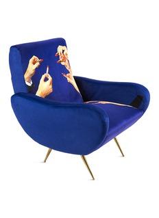 Seletti x Toiletpaper Magazine Lipsticks armchair