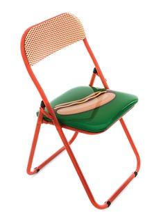 SELETTI x Studio Job热狗图案金属折叠椅