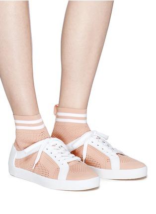 Figure View - Click To Enlarge - Ash - 'Ninja' knit sock sneakers