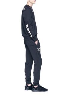 adidas x NEIGHBORHOOD 'Commander' logo print panelled sweatshirt
