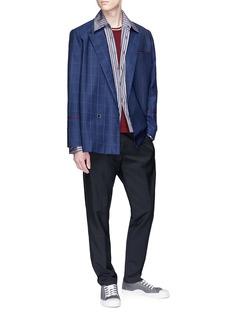 Necessity Sense 'Kin' mix pattern soft blazer