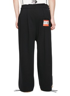 MIHARAYASUHIRO 刺绣徽章阔腿裤