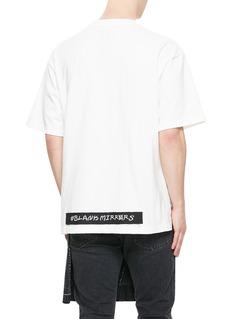 MIHARAYASUHIRO 徽章点缀纯棉T 恤