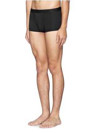 模特儿示范图 - 点击放大 - ZIMMERLI - SEA ISLAND纯棉平角内裤