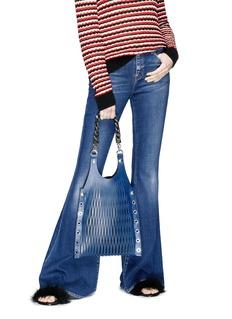 Sonia Rykiel 'Le Baltard' medium calfskin leather net tote
